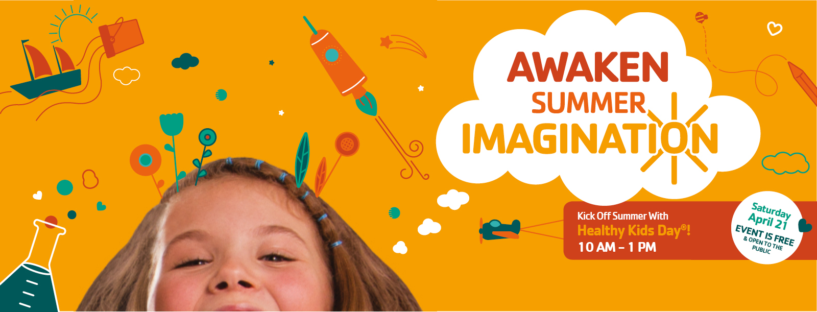 The Phil Cline YMCA Wants to Awaken Summer Imagination at Annual Healthy Kids Day®
