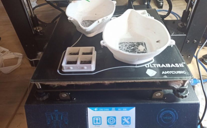 3-D printing face masks